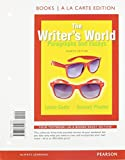 The Writer's World : Paragraphs and Essays, Books a la Carte Plus MyWritingLab with Pearson EText -- Access Card Package, Gaetz, Lynne and Phadke, Suneeti, 0133949699
