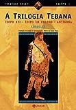 capa de A Trilogia Tebana. Coleção Tragédia Grega
