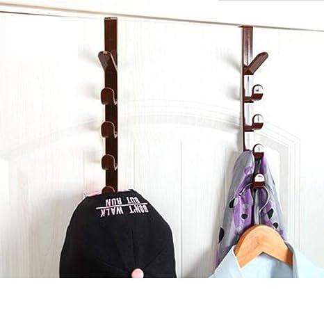 Auony - Organizador de ganchos para puerta, 2 unidades, para ...