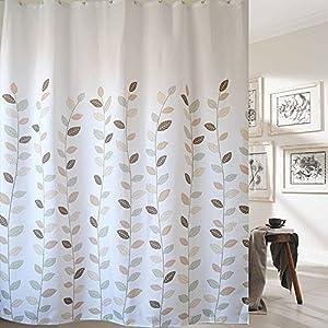 Amazon Riverbyland Shower Curtains Vivifying Leaf 72