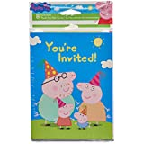 Amazon Com Peppa Pig Invitations Cards Party Supplies Toys