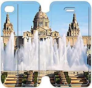 iphone 6 6S plus 5.5 inch Flip Leather Phone Case Barcelona SF1DG6271819