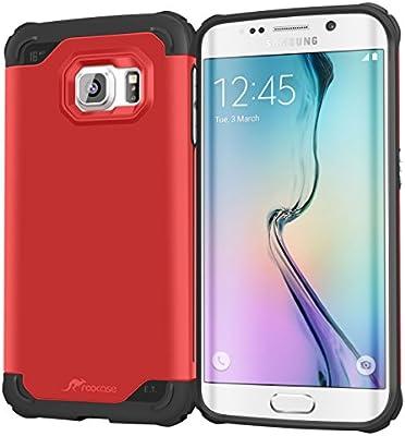 Amazon.com: S6 Edge Carcasa, Samsung Galaxy S6 Edge Caso ...