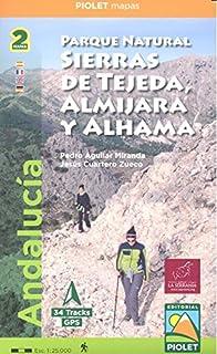 Parque Natural Sierras de Tejeda, Almijara y Alhama. 2 mapas. 1:25.000
