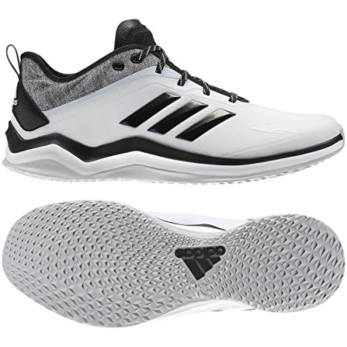 Adidas Heren Snelheid Trainer 4 Sl Baseball Schoen Crystal Wit / Zwart / Carbon