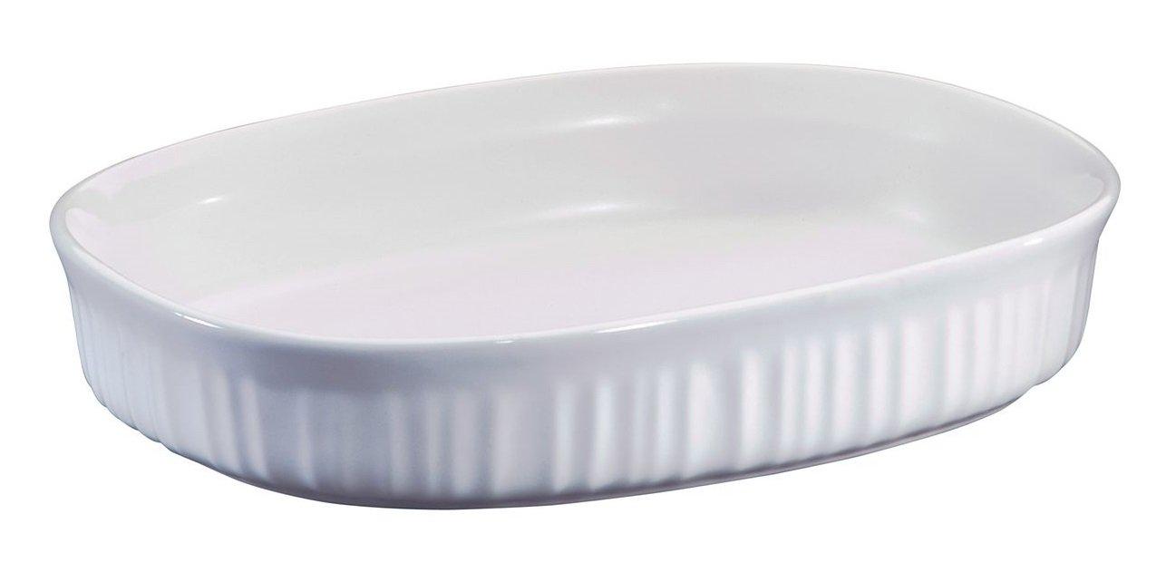 Corning Ware ''French White'' (1.5 Qt.) Oval Casserole Baking Dish (F-6-B)