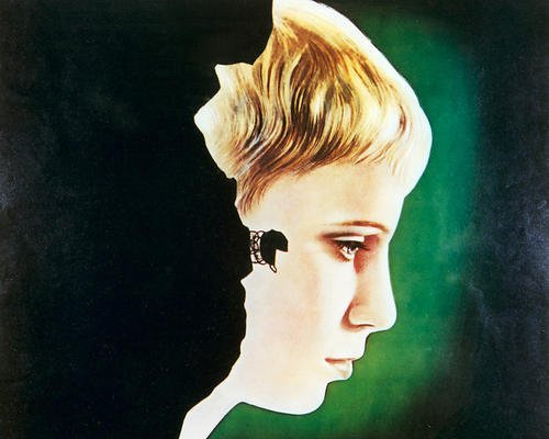 Mia Farrow 11x14 HD Aluminum Wall Art Rosemary's Baby (Rosemary Walls Art)