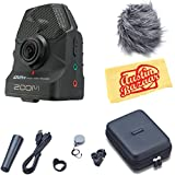 Zoom Q2n Handy Video Recorder - Black Bundle with Zoom APQ-2n Accessory Pack and Austin Bazaar Polishing Cloth