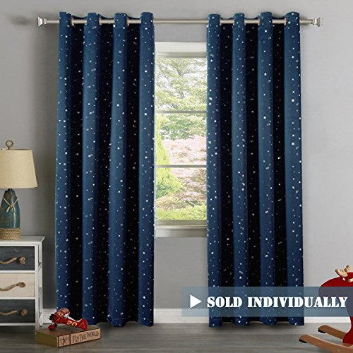 H.Versailtex Cute Star War Pattern Ultra Sleep Energy Saving Thermal  Insulated Blackout Curtains For Boyu0027s Room, Grommet Window Drapes For  Spring /Summer, ...