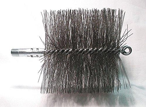 Flue Brush, Dia 5, 1/4 MNPT, Length 8 Dia Flue Brushes