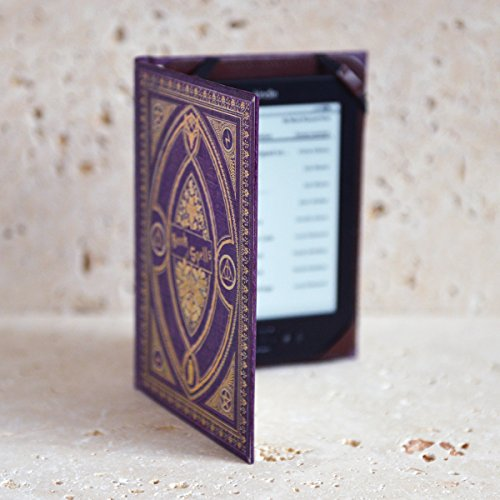 Harry Potter themed Book of Spells Kindle Cover (Purple Spells)