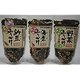 【通宝海苔】 【無添加】野菜 / 納豆 / 海老 / ふりかけ各1袋(合計3袋)