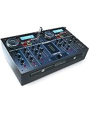 Numark CDMIX USB - Reproductor CD / MP3 y controlador DJ USB con pantallas