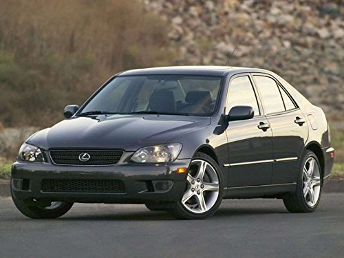 Home Comforts LAMINATED POSTER 2005 Lexus IS 300 Car Poster