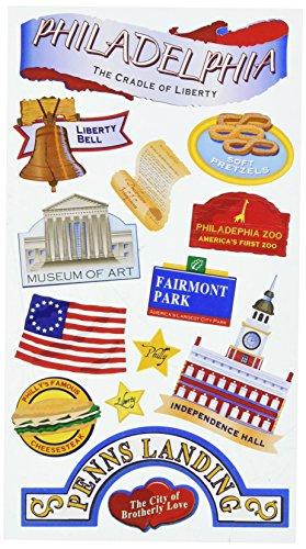 (Sticko EK Success Philadelphia Stickers)