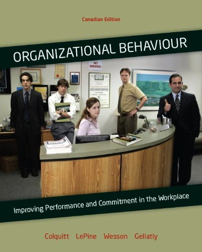 organizational behaviour study guide Effective leadership motivates employees to do their best work in this free guide,  learn how to apply key organizational behavior principals to drive results.