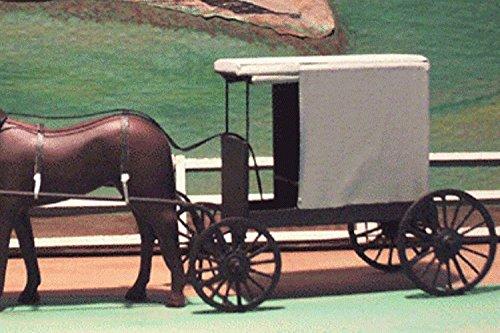 Amazon com: Miniature Amish Buggy---PA Market Buggy (gr