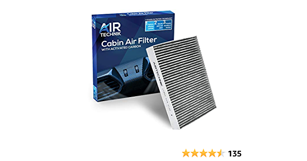 AirTechnik CF11854 Replacement for Nissan Premium Cabin Air Filter w//Activated Carbon