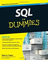 SQL For Dummies, 7th Edition Front Cover