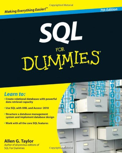 [PDF] SQL For Dummies, 7th Edition Free Download | Publisher : For Dummies | Category : Computers & Internet | ISBN 10 : 0470557419 | ISBN 13 : 9780470557419