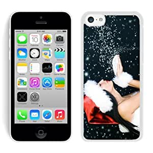 Fashion Style Iphone 5C TPU Case Merry Christmas White iPhone 5C Case 32