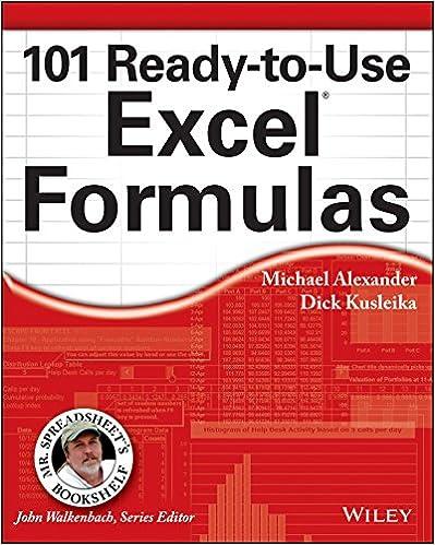 101 ready to use excel formulas mr spreadsheet s bookshelf