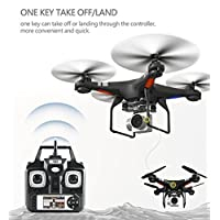 Nibito Wide Angle Lens HD Camera Quadcopter RC Drone WiFi FPV Live Helicopter Hover
