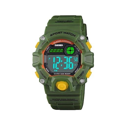 Reloj Analógico Digital para Niños, Reloj Deportivo, Reloj Impermeable, Reloj Digital, Reloj