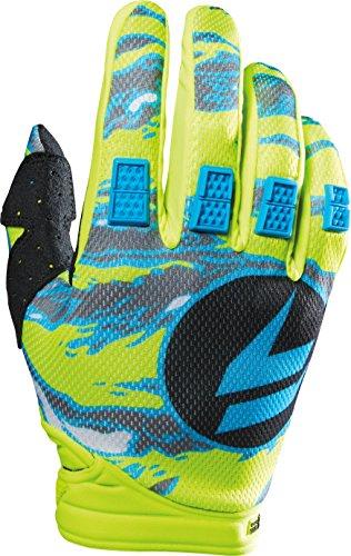 - Shift Racing Strike Men's Dirt Bike Motorcycle Gloves - Yellow Camo / Small