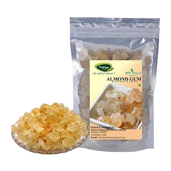 Thanjai Natural Almond Pisin Badam Gum (250 g)