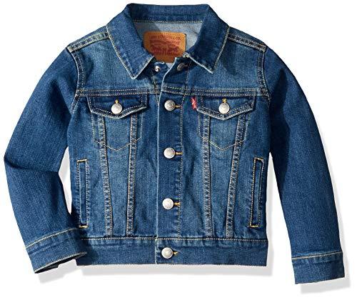 - Levi's Boys' Little Denim Trucker Jacket, Washed Up Up, 6