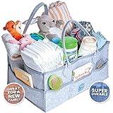 Baby Diaper Caddy Organizer - Lightweight Multipurpose...