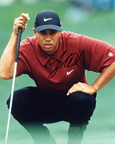 Tiger Woods Signed Autographed 8x10 Inch Photo Print