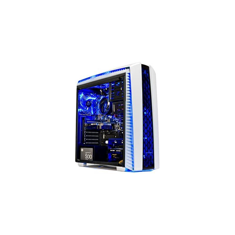 Skytech Gaming ST-ARCH-II-001 [Gamer's Choice] SkyTech Archangel II Gaming Computer Desktop PC AMD Ryzen 5 1400,GTX 1050 TI 4GB, 1TB HDD,16 GB DDR4, Windows 10 Home