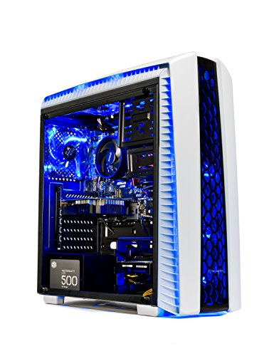Skytech Gaming ST-ARCH-II-001 [Gamer's Choice] SkyTech Archangel II Gaming Computer Desktop PC AMD Ryzen 5 1400,GTX 1050 TI 4GB, 1TB HDD,16 GB DDR4, Windows 10 Home