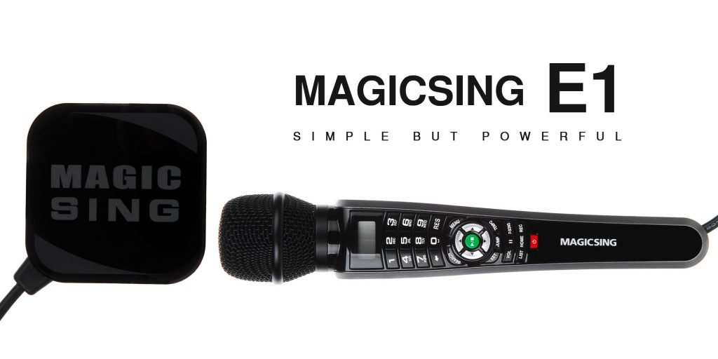 English//American Songs /· Requires WiFi /· Free 2-Month Subscription Code for Tagalog Hindi Korean Spanish Russian New 2018 MagicSing E-1 Smart Home Karaoke System Microphone Stream 10,000
