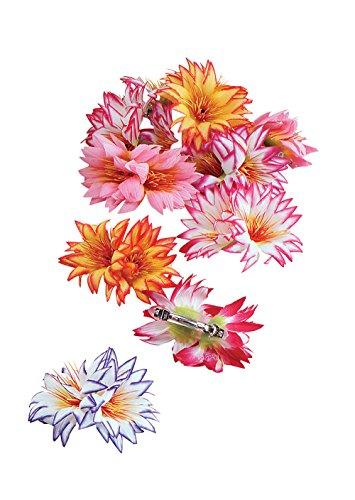 Flowery Dress Halloween Costume (Hawaiian Style Flower Hair Clip)