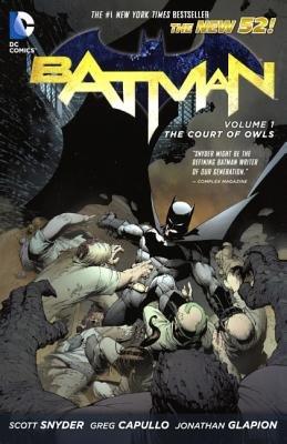 Batman Volume 1( The Court of Owls)[BATMAN V01 TURTLEBACK SCHOOL &][Prebound]