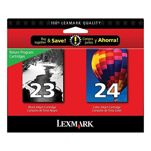 - Lexmark #23/#24 X3550/X4550/Z1420 Black/Color Ink Includes 1 Each Of 18c1523 & 18c1524 Sell Only ONE