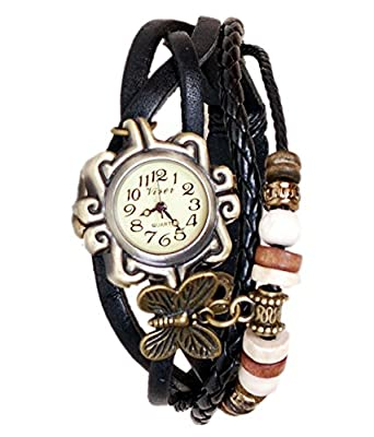 Renaissance Traders Black Strap Casual Watch