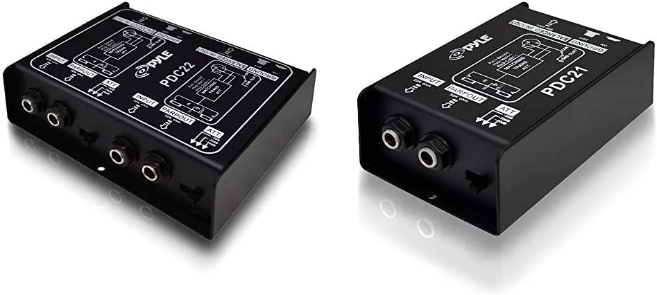Donner Special-Ⅰ Professional High-Performance Passive DI-Box Unit Hum Eliminator 1//4 instrument Direct Box to balanced /& unbalanced XLR