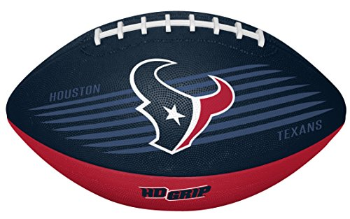 Rawlings NFL Houston Texans 07731093111NFL Downfield Football (All Team Options), Red, Youth