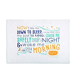 Demdaco Children\'s Bedtime Prayer Pillowcase