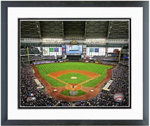Milwaukee Brewers Miller Park MLB Stadium Photo (Size: 26.5