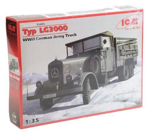 ICM Models Type LG3000 WWII German Army Truck
