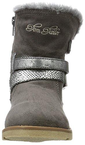 TOM TAILOR Mädchen 3770204 Stiefel Grau (Grey)
