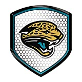Jacksonville Jaguars PV High Intensity Shield Reflector Emblem Decal Sticker Auto Home Football