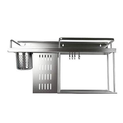Amazon.com: Estante de aluminio para especias de DENGS, caja ...