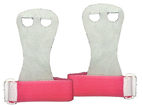 Hook & Loop (Grey - Pink Strap, Small - Up to 2 5/8)
