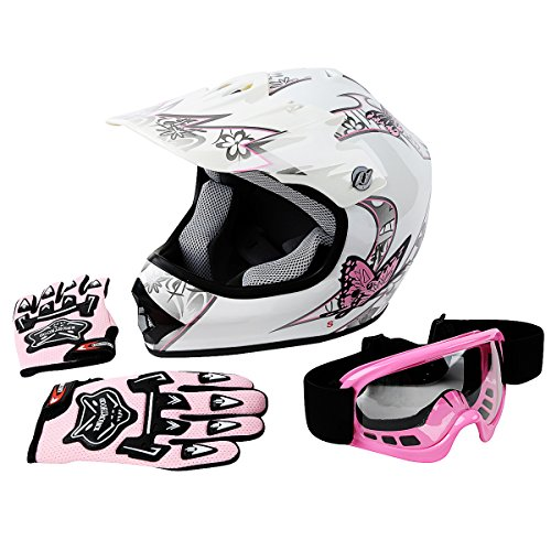 TCT-MT DOT Helmet+Goggles+Gloves Youth